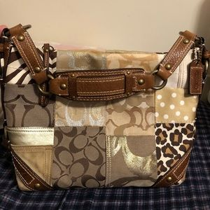 Coach animal print Bag